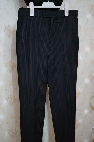 Pantaloni clasici business cu dungi