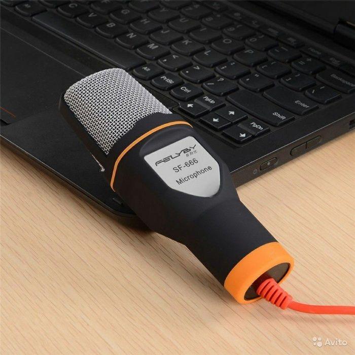 Стереоконденсаторный микрофон SF-666 Алматы - изображение 1