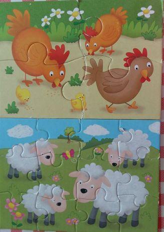 Pazzel- contine 4 pazzeluri-găina,oaie, porc, vacă