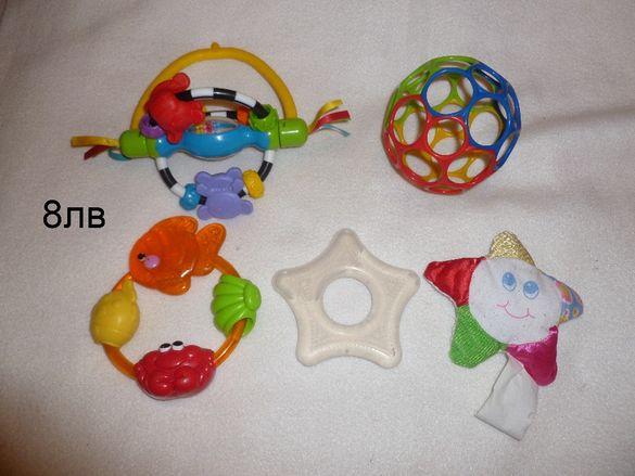 Лот бебешки играчки - Фишър прайс, Симба, Плейгро и други