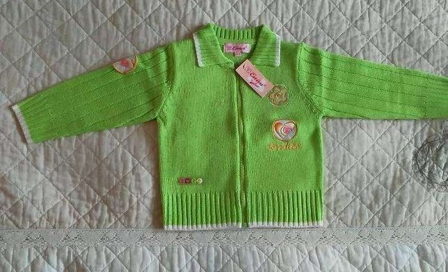Pulover elegant verde din UK special pentru fetite)
