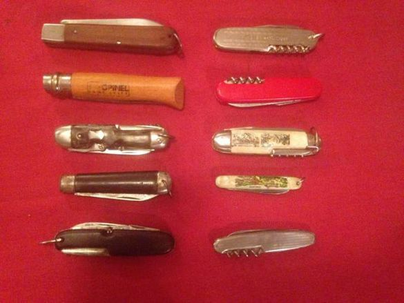 колекция джобни ножове