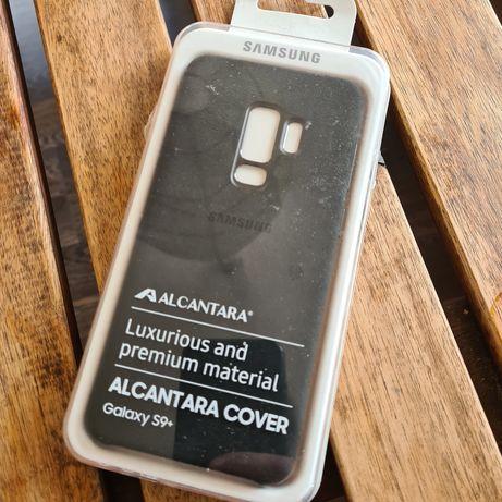 Оригинален case Samsung S9+ лукс алкантра