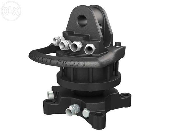 Rotator hidraulic 3 tone cu flansa pentru graifer