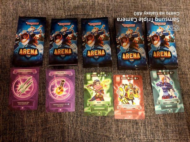 Продам карточки  ARENA TCG
