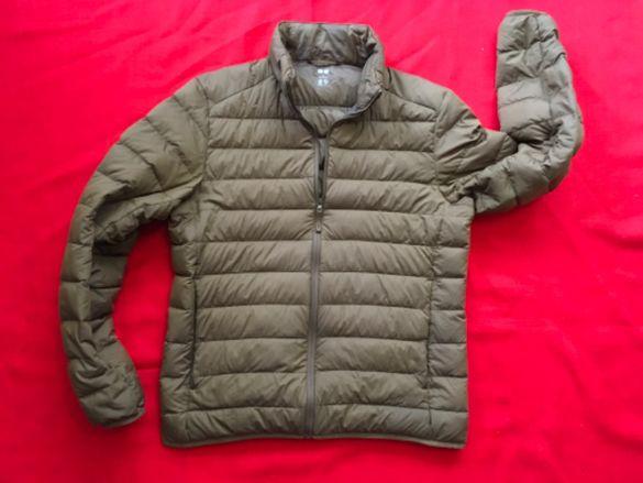 Uniqlo-оригинално пухено яке,гъши пух