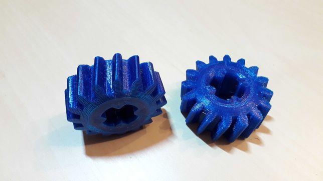 3D print - Roata dintata mecanism ridicare roata rezerva VW sharan