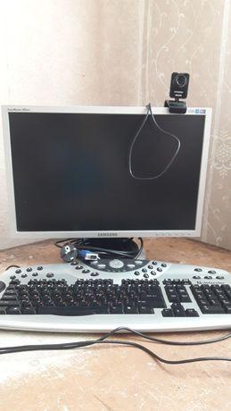 Монитор,  клавиатура, камера