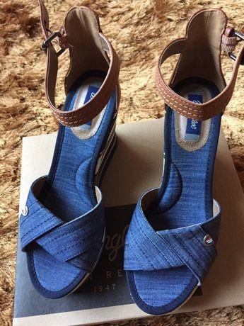 Sandale denim noi