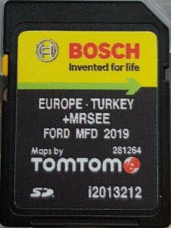 Ford MFD 2019гд SD Card Europa V9 Форд Мфд СД Карта Европа и Търция
