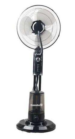 Ventilator cu pulverizare apa si umidificare , 90W, 300 ml/h, 3 viteze