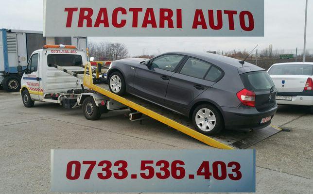 Tractari,platforma,slep auto in Timisoara , judetul Tmis, Arad, Caras