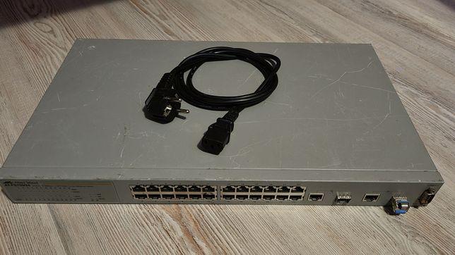 Switch cu management fibra optica