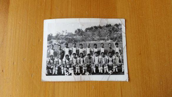 Стара снимка на футболният отбор Пирин Благоевград