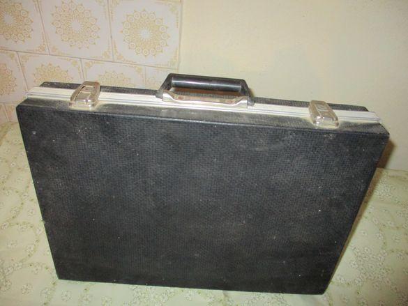 Дипломатически куфарчета кожени черни