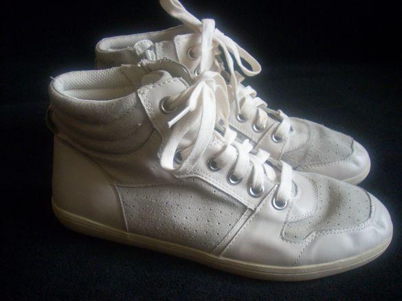 Orchard оригинални бели спортни обувки - Естествена кожа