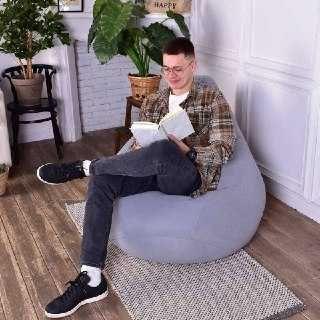 Акция! Кресло мешок.пуфик.бескаркасная мебель.кресло груша.bean bag.
