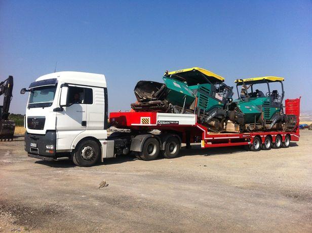 Inchiriere trailer - transport utilaje