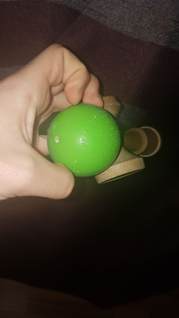 URGENT kendama green solid