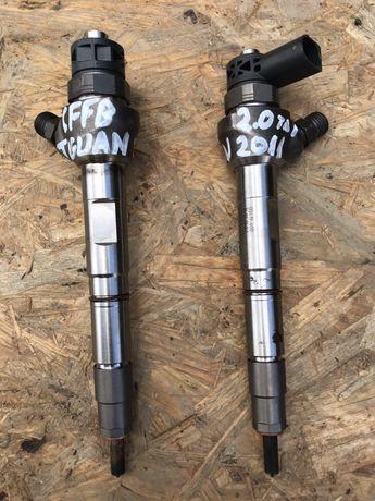 Injector injectoare vw tiguan 2.0 tdi an 2011 cod motor CFFB