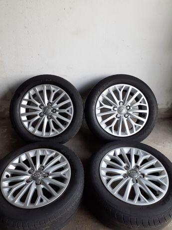 Jante 16' Originale Audi A3,Vw,Seat+205/55R16 Dunlop