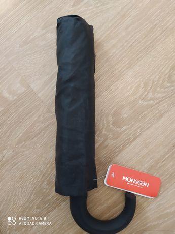 Зонт черный унисекс