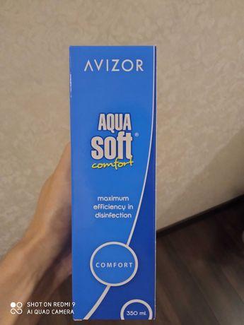 Раствор/жидкость для линз Aqua Soft 350 мл (Аква Софт)