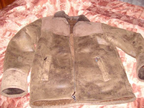 Мъжко кожено палто