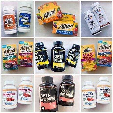 Мультивитамины IHERB для мужчин и женщин