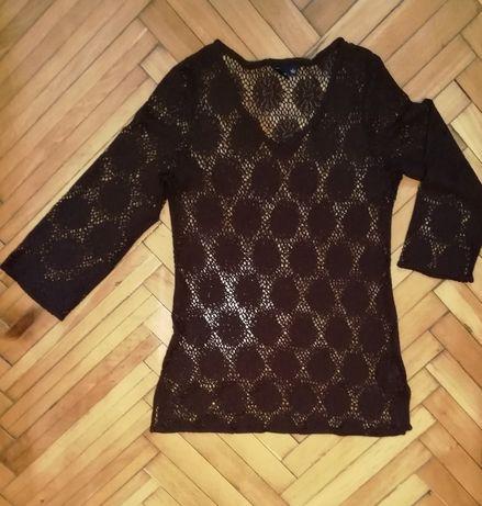 Bluza cu aspect crosetat, marimea L, 44-46
