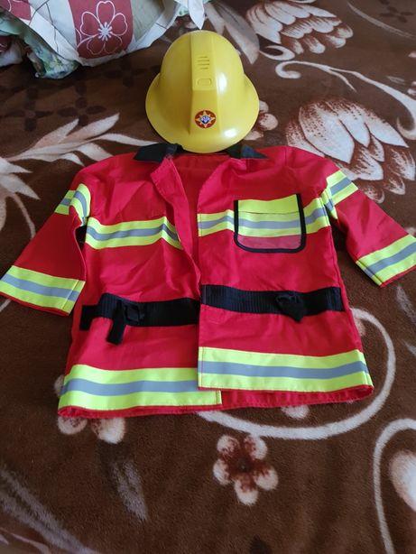 Costum pompierul Sam