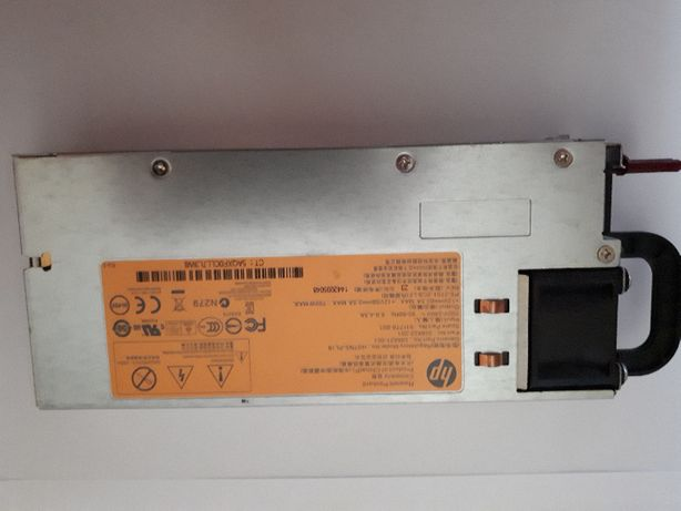 Блок питания HP 750W Model No: HSTNS-PL18