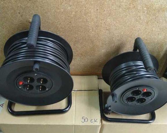 Макара - удължител с кабел - 25 или 50 м ПРОМО