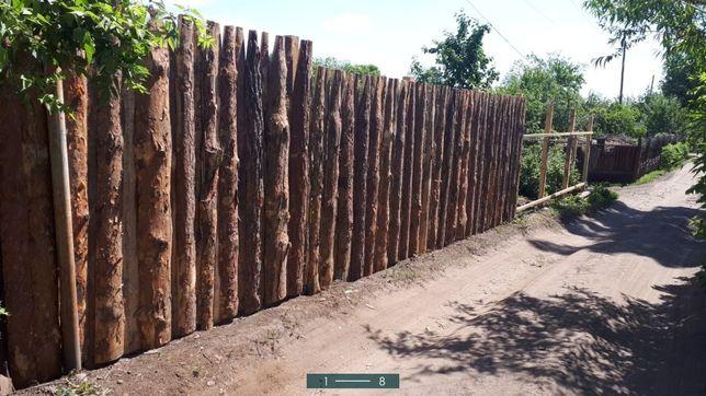 Забор высота 2 метра (деревянный)