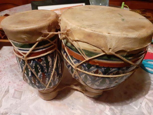 Tobe vintage de ceramica pictata bune pentru cintat