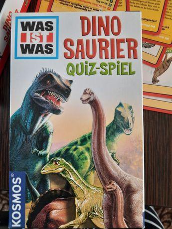 Joc cu informații despre dinozauri în germana