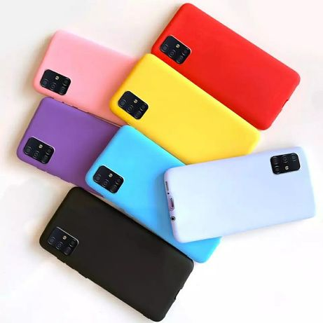 Матов Силиконов Кейс за Samsung Galaxy A21s A41 A51 A71 A40 A50 A70