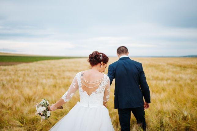 Rochie de mireasă midi superbă! Pentru o nuntă altfel.