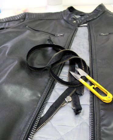 Кожаная куртка, пиджак - Реставрация Ремонт Перешив - Ателье