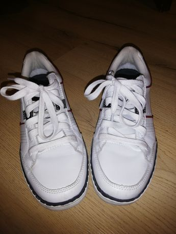 Оригинални спортни обувки, маратонки естествена кожа SKECHERS MEMORY F