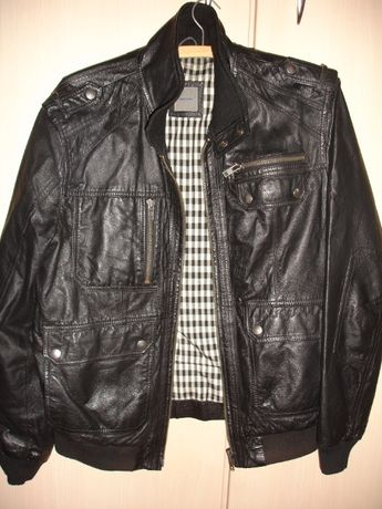 Мъжко яке от естествена кожа Montego размер L