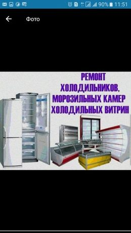 Срочный ремонт холодильников морозильников всех марок заправка френом