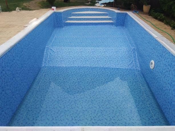 Liner piscine , hidroizolații PVC