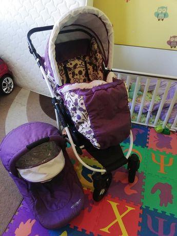Dizain Baby Комбинирана количка 2 в 1 Viola Violet New
