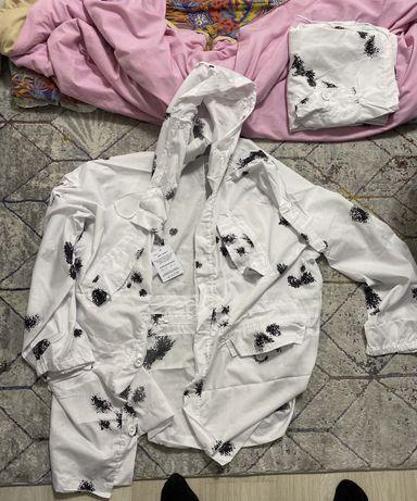 Маскировочный халат для охоты и рыбалки.