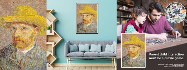 Puzzle autoportret Vincent Van Gogh 1000piese. Nou ambalat!