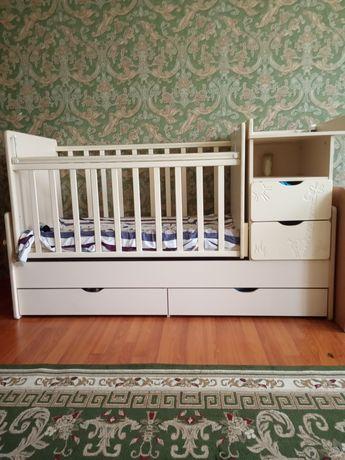 Детский кровать трансформер КЕНГРУ