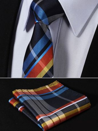Cravata in carouri,100% Matase,HAND MADE+batista-> 268 LEI IN MAGAZIN!