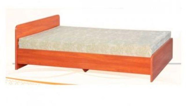 Кровать односпальная с новым матрасом