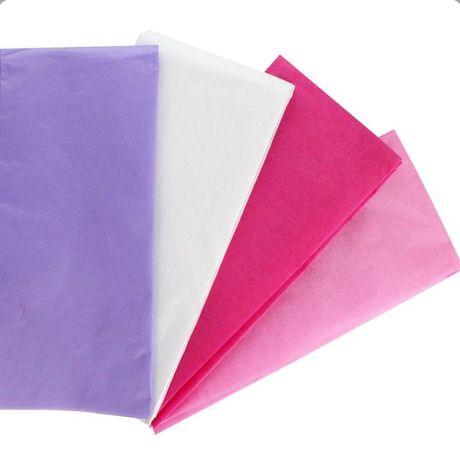 Тишью упаковочная бумага помпоны